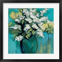 Framed White Lilac Waltz