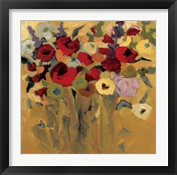 Framed Jewel Bouquet