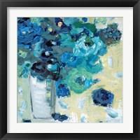 Framed Harmony in Blue