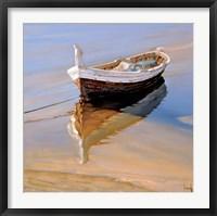 Framed Barcas Descansando