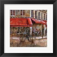 Framed La Comte Paris