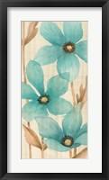Framed Waterflowers I