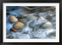 Framed Stones and Waves