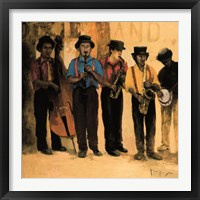 Framed Dixie Band