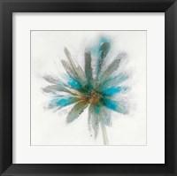 Framed Teal Breeze II