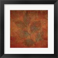 Framed Leaves of Autumn