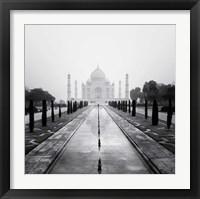 Framed Taj Mahal - A Tribute to Beauty
