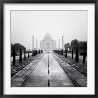 Framed Taj Mahal - A Tribute to Beauty