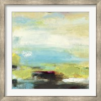 Framed Curragh Green