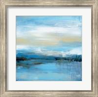 Framed Dreaming Blue I