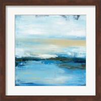 Framed Dreaming Blue II
