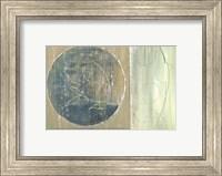 Framed Floating Bamboo