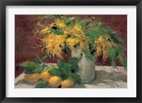 Framed Mimosas y Limones