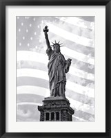 Framed Liberty Flag