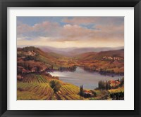 Framed Vineyard View I