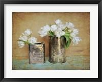 Framed Vintage Tulips I
