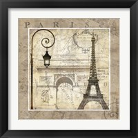 Framed Paris Holiday