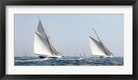 Framed Sailing South A