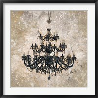 Framed Onyx Chandelier