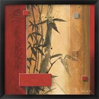 Framed Bamboo Garden