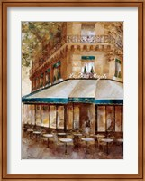 Framed Cafe De Paris I
