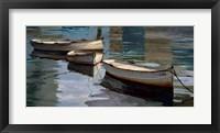 Framed El Descanso de las Tres Barcas