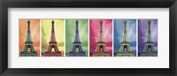 Framed Pop Art Paris