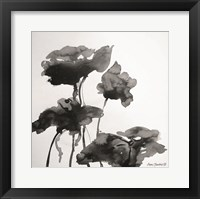 Framed Lotus Flowers I