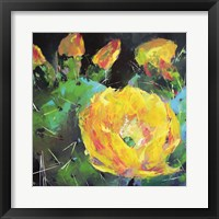 Framed Prickly Pear Bloom