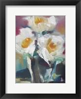 Framed Wild Roses I