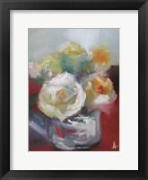 Framed Wild Roses II