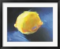 Framed Lemon Glow