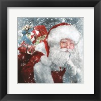 Framed Santa Presents