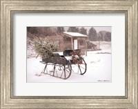 Framed Grandpa's Sleigh