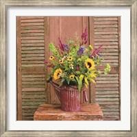 Framed Gardener's Bouquet