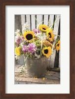 Framed Bucket of Sunshine