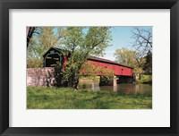 Framed Delville Bridge