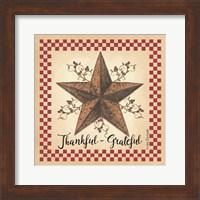 Framed Thankful Grateful Barnstar