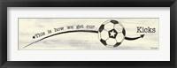 Framed Soccer - Kicks