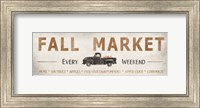 Framed Fall Market