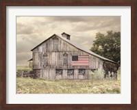 Framed Rural Virginia Barn