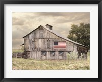 Framed Rural Virginia Barn