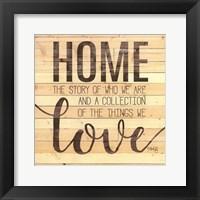 Framed Home Story