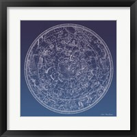 Framed Constellations Map II