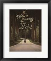 Framed Life's a Journey