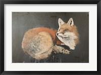 Framed Starry, Starry Night Fox