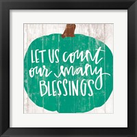 Framed Our Many Blessings
