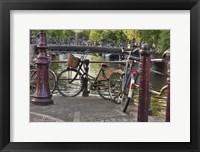 Framed Amsterdam Travel I