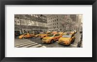 Framed 5th Avenue Taxi