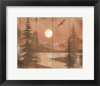 Framed Full Moon II